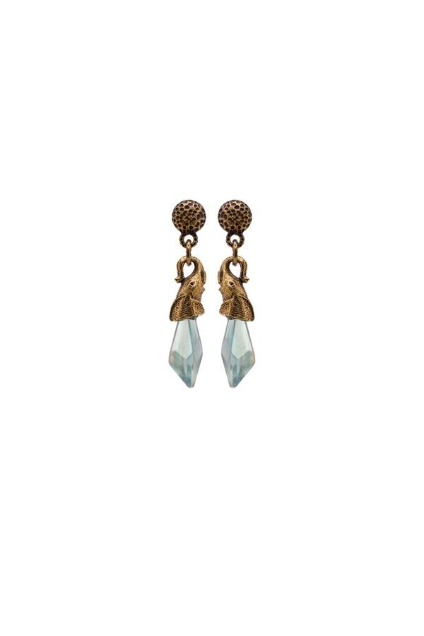 Prada Silver And Shell Earrings DZ5tZ