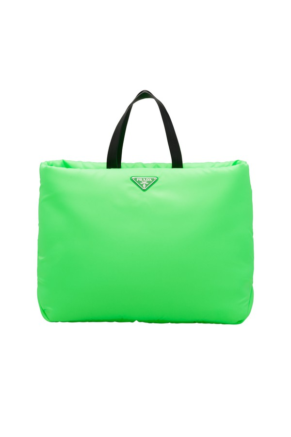 90462c00a425 Large Padded Nylon Tote by Prada at ORCHARD MILE