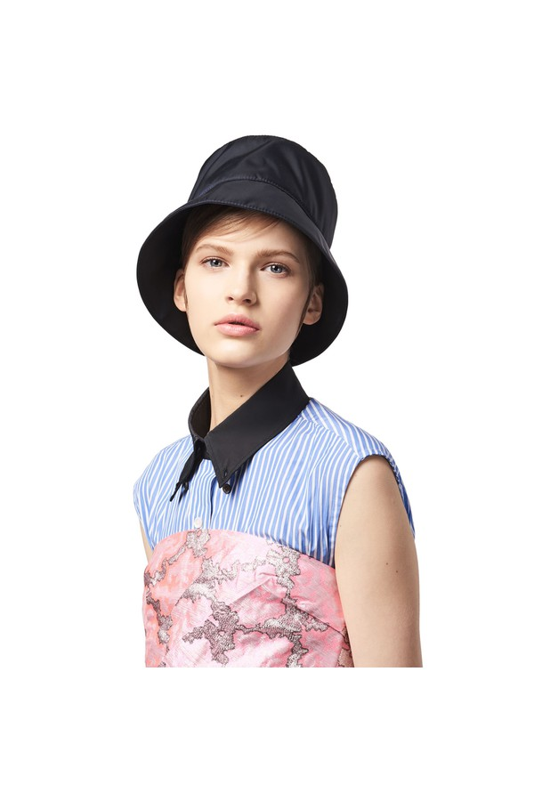 Nylon Rain Hat by Prada at ORCHARD MILE f9bd6a5a13fa