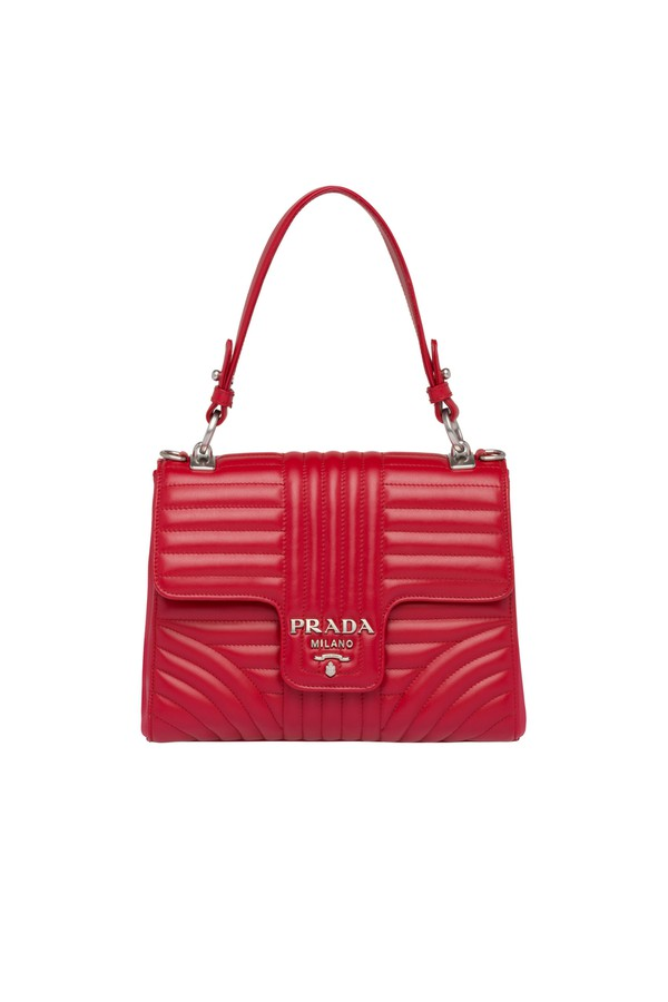 2c800242889d Prada Diagramme Leather Bag by Prada at ORCHARD MILE