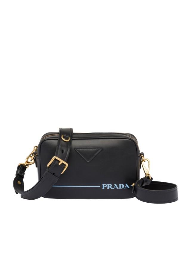 7ff8ef6096 Prada Mirage Leather Shoulder Bag by Prada at ORCHARD MILE