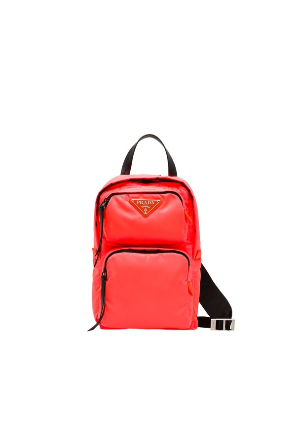 2c07ad2c5099 Nylon One-Shoulder Backpack by Prada at ORCHARD MILE