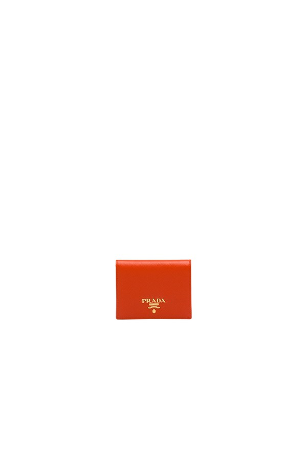 b0d7dbf33d1a29 Small Saffiano Leather Wallet by Prada at ORCHARD MILE