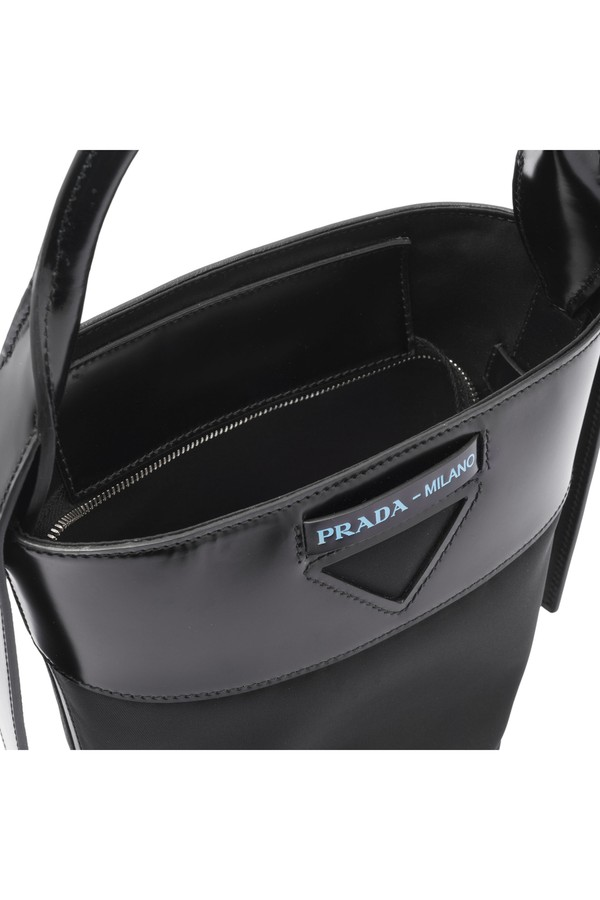 768fa2c4bd62 Prada Ouverture Nylon Bucket Bag by Prada at ORCHARD MILE