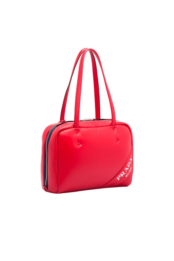 42249fd5e5e2 Medium Padded Nappa Leather Bag by Prada at ORCHARD MILE
