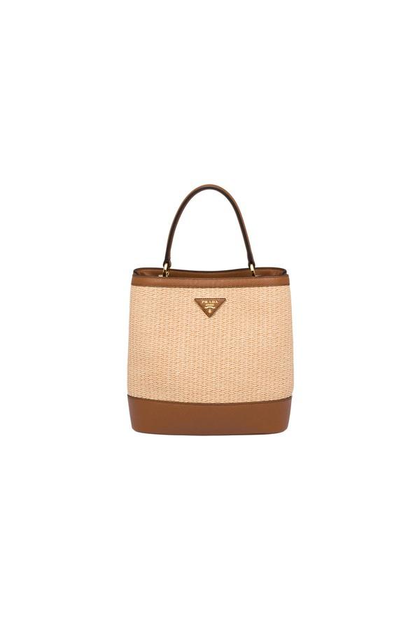 0f35a8429 Prada Panier Medium Straw Bag by Prada at ORCHARD MILE