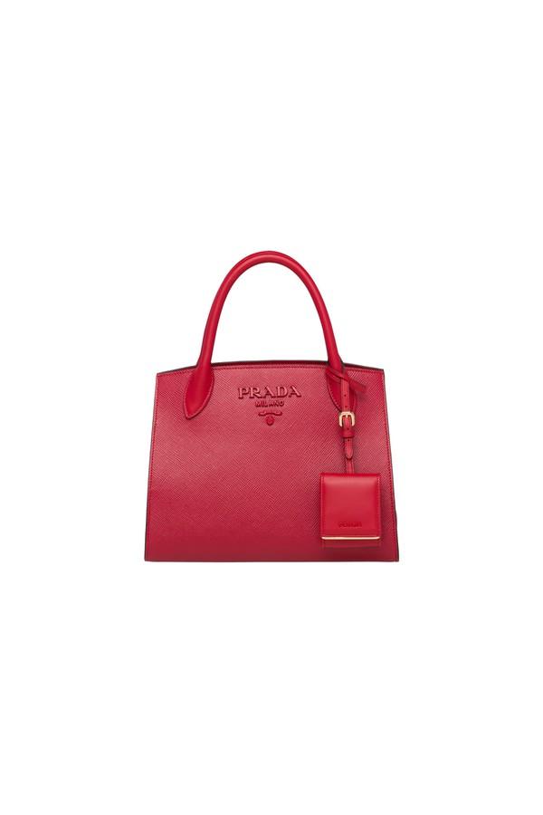 057d316099fc Prada Monochrome Saffiano Leather Bag by Prada at ORCHARD MILE