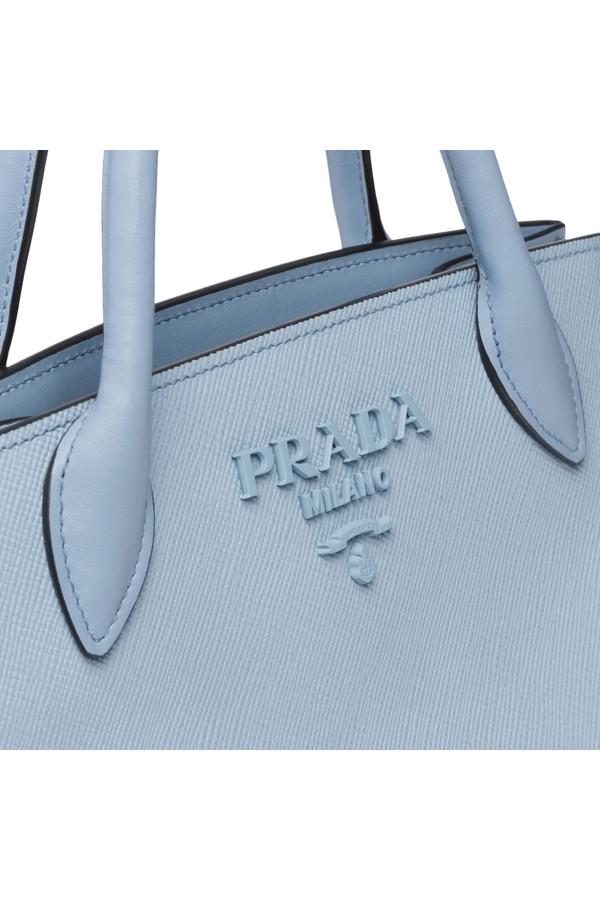 61e22a661cf6 Prada Monochrome Saffiano Leather Bag by Prada at ORCHARD MILE