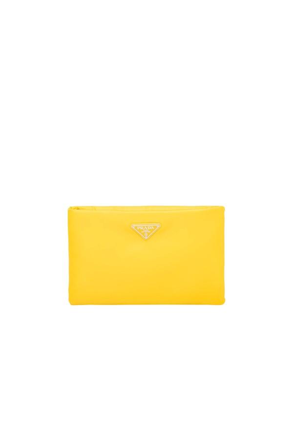 177263e6ae01 Medium Padded Nylon Clutch by Prada at ORCHARD MILE