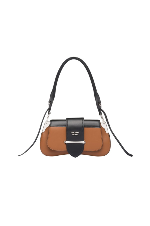 f91ec0e1b6ee Prada Sidonie Leather Shoulder Bag by Prada at ORCHARD MILE