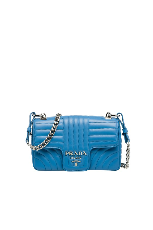be54f2c286d0a Prada Diagramme Leather Shoulder Bag by Prada at ORCHARD MILE