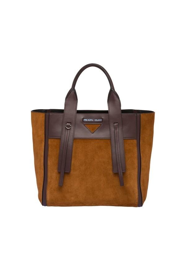 c8bc69be32 Prada Ouverture Medium Leather Bag
