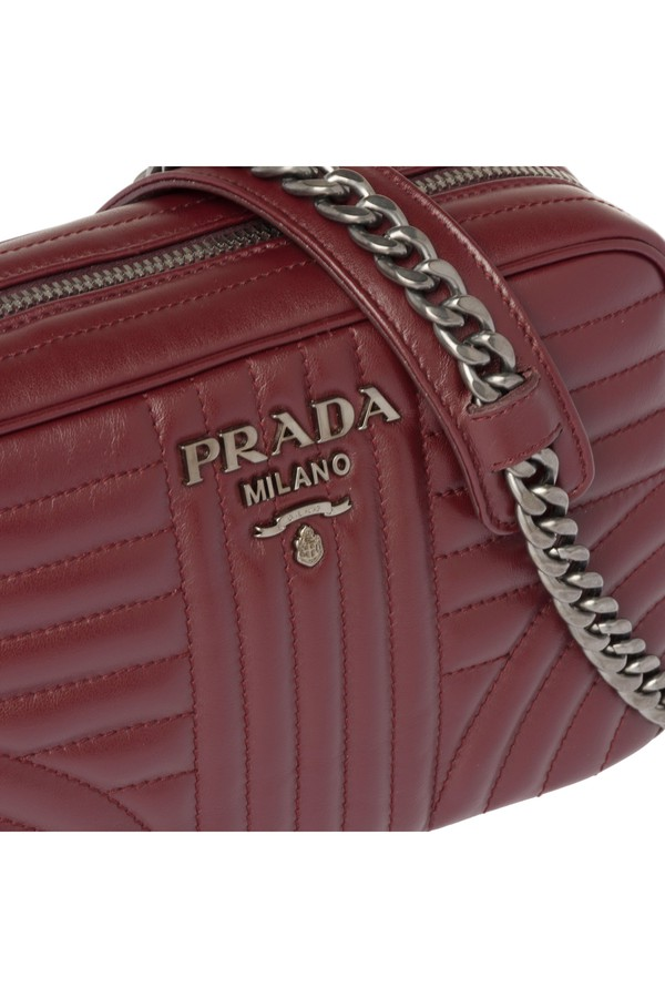 73ae69d67ced Prada Diagramme Leather Cross-Body Bag by Prada at ORCHARD MILE