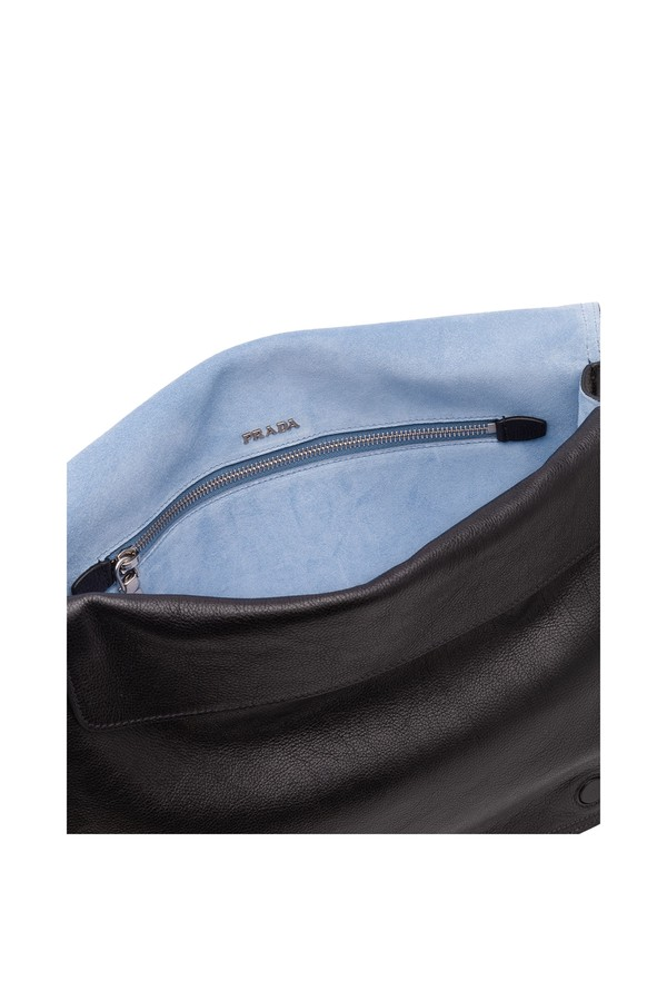 08b6ed81357b Prada Etiquette Leather Shoulder Bag by Prada at ORCHARD MILE
