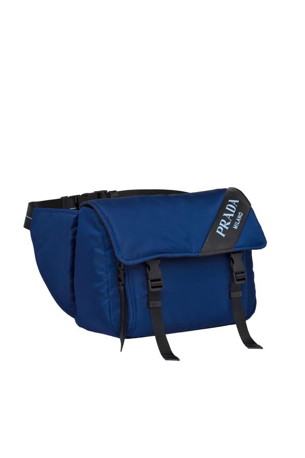 c5d0f4a9 Nylon And Leather Belt Bag