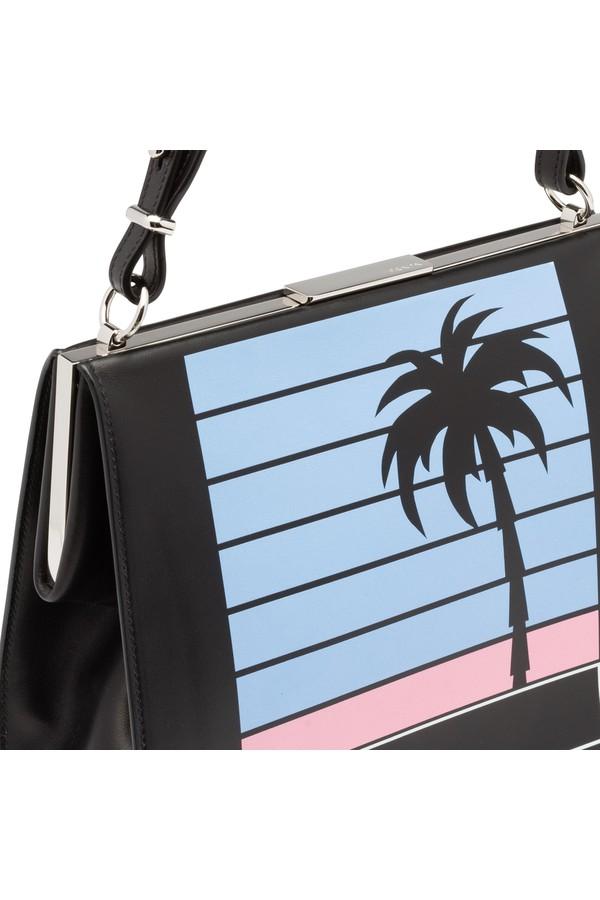 a8712cef611d Prada Light Frame Leather Bag by Prada at ORCHARD MILE