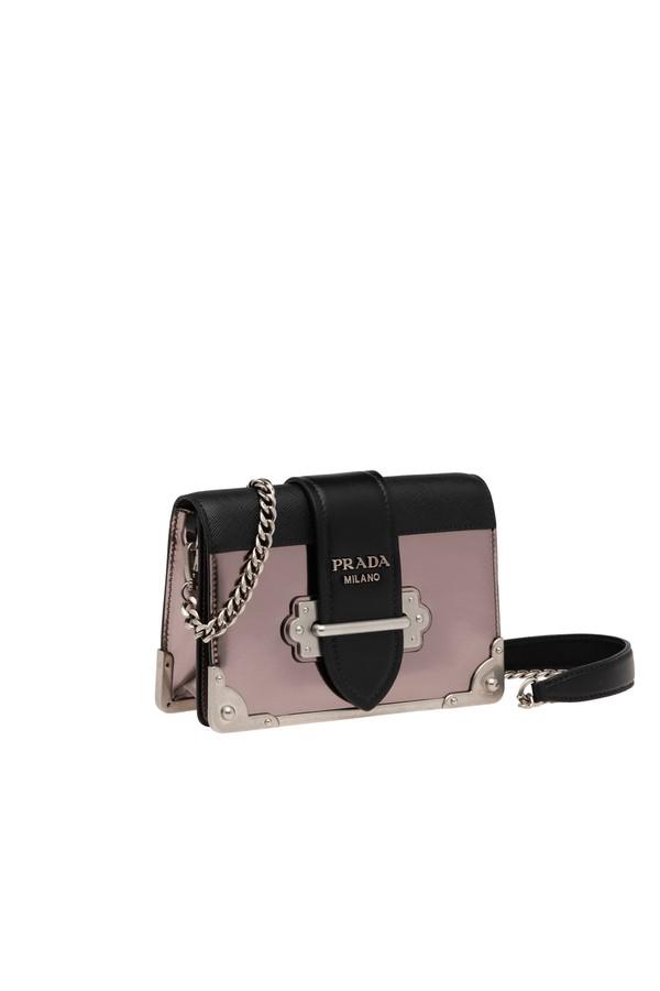 a92c7dbb946f Prada Cahier Leather Shoulder Bag by Prada at ORCHARD MILE