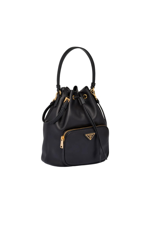 bb51f62adce375 Leather Bucket Bag by Prada at ORCHARD MILE