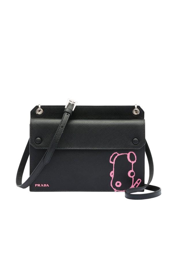 11284e15df1f ... mini bag by prada at orchard mile f7970 bf7bd sale prada elektra  leather mini bag c903d bb9ae sale prada mini bag handbags velvet black ref. 68886 ...