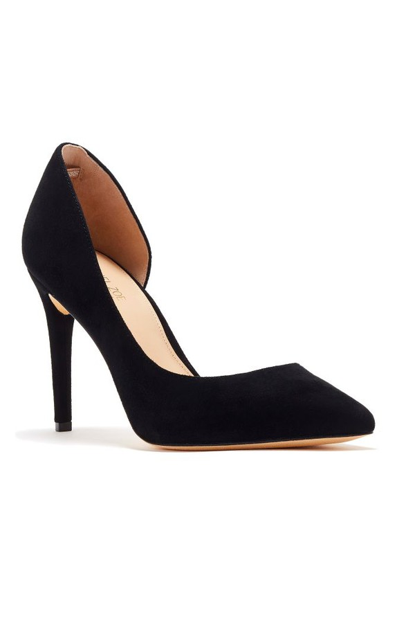 London Suede D Orsay Pumps by Rachel Zoe at ORCHARD MILE cc96305491fe
