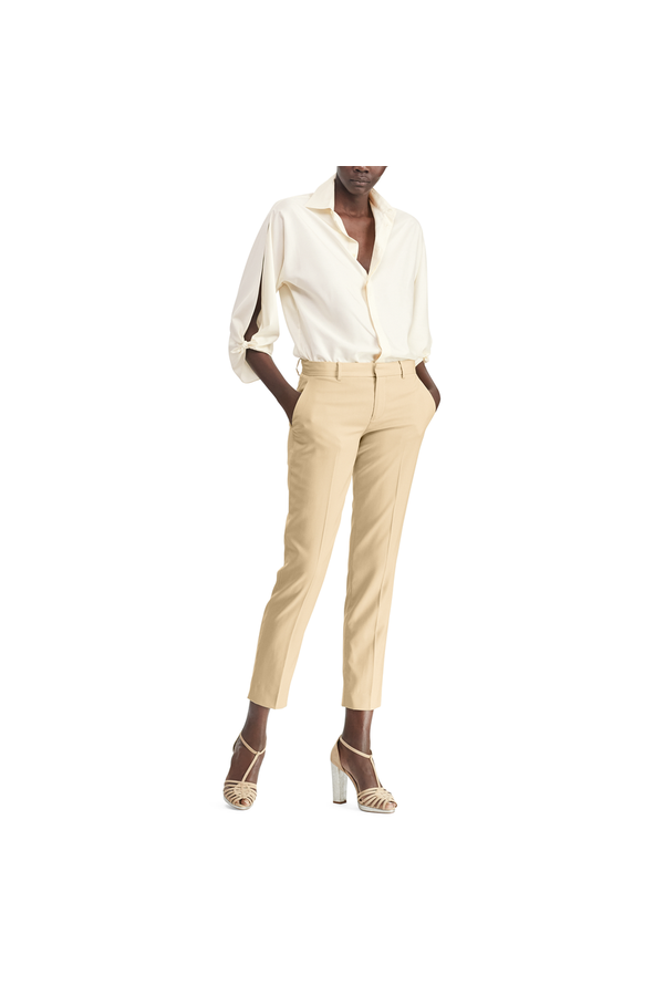 0f254da735aa7 Karen Silk Crepe Blouse by Ralph Lauren Collection at ORCHARD MILE