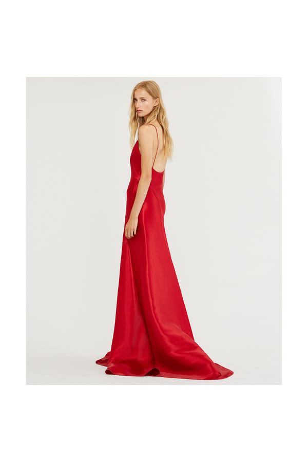 5c4545e0c947 Adelle Mikado Gown by Ralph Lauren Collection