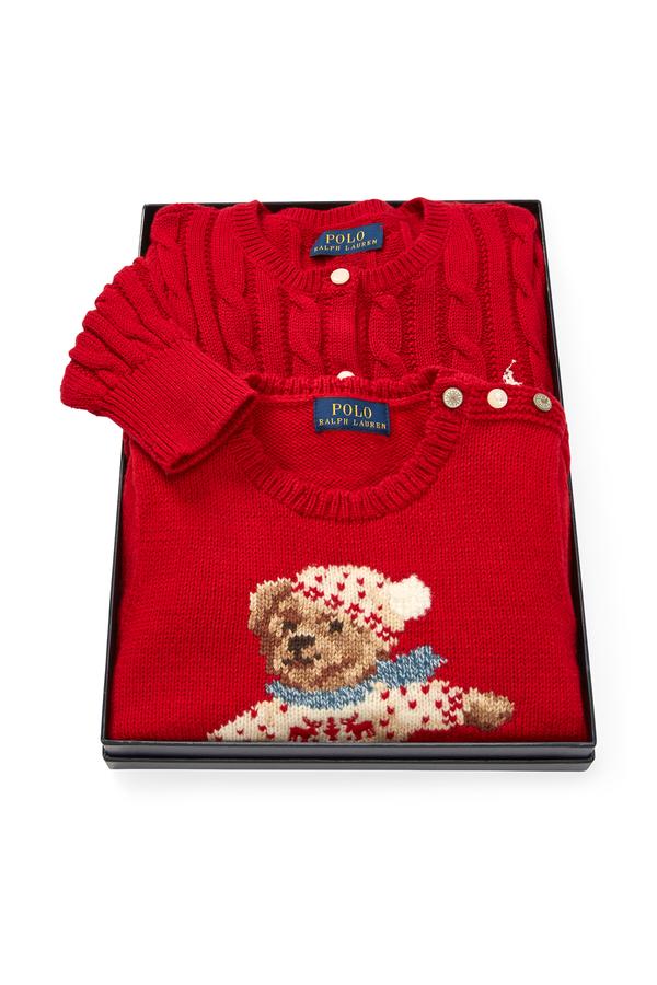 dafc6da648ce Sweater 2-Piece Gift Set by Ralph Lauren Kids at ORCHARD MILE