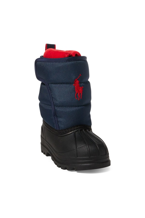 Hamilten Ii Quilted Ez Boot by Ralph Lauren Kids at ORCHARD MILE 3ca2cf93581a7