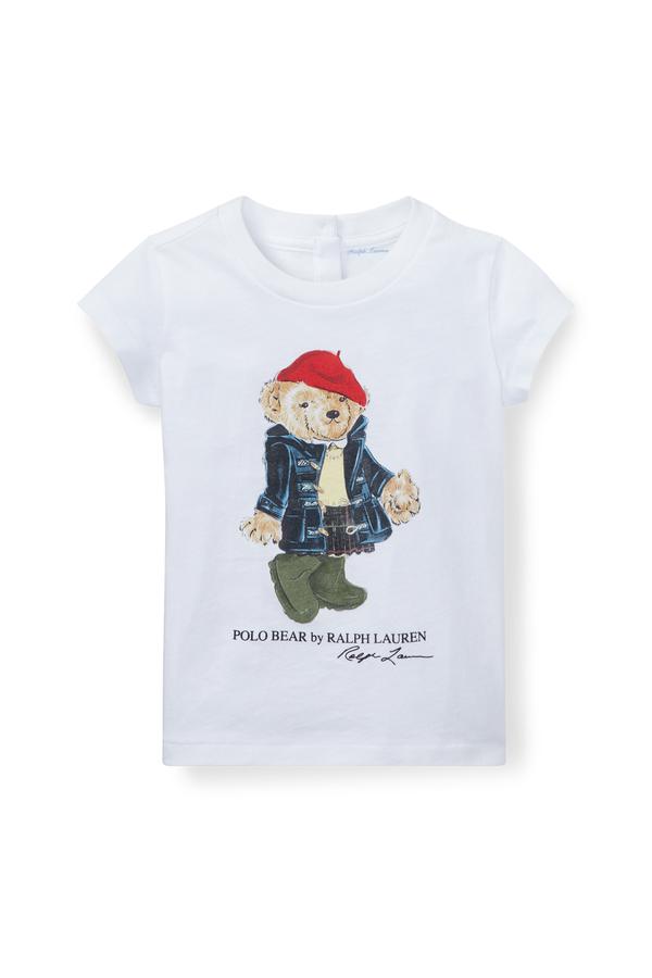 86f540d6 Wellie Bear Cotton T-Shirt by Ralph Lauren Kids at ORCHARD MILE
