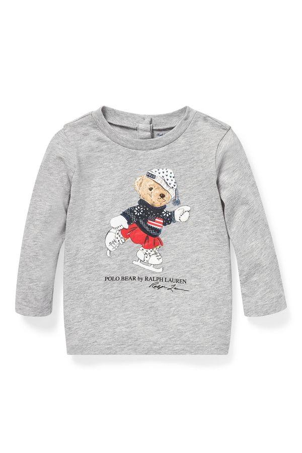 d8a3f3a73419 Ice-Skating Bear T-Shirt by Ralph Lauren Kids at ORCHARD MILE