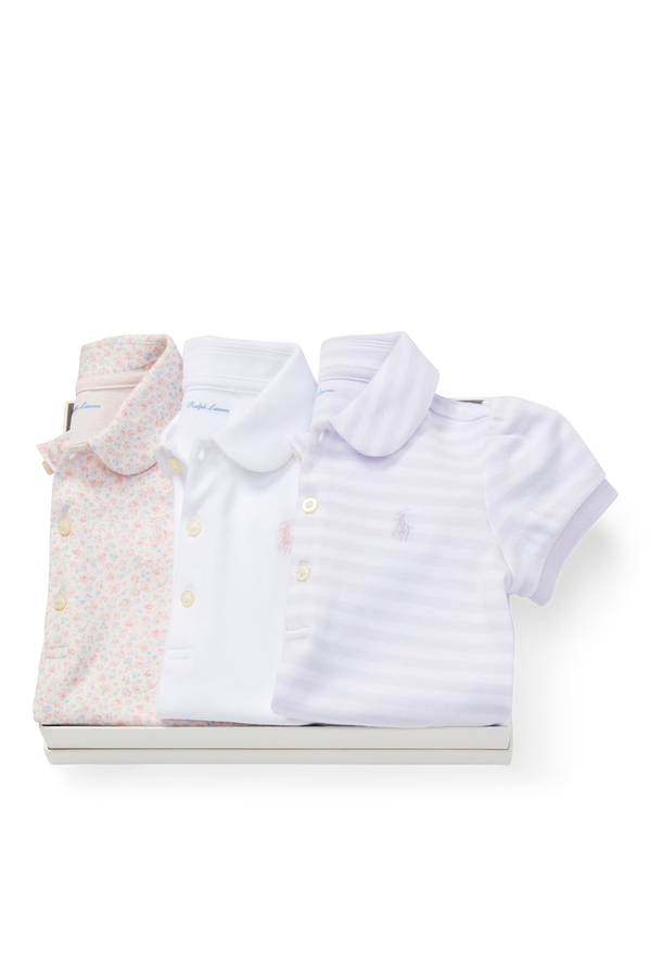 aae3810d6 Cotton Polo 3-Piece Gift Set by Ralph Lauren Kids at ORCHARD MILE
