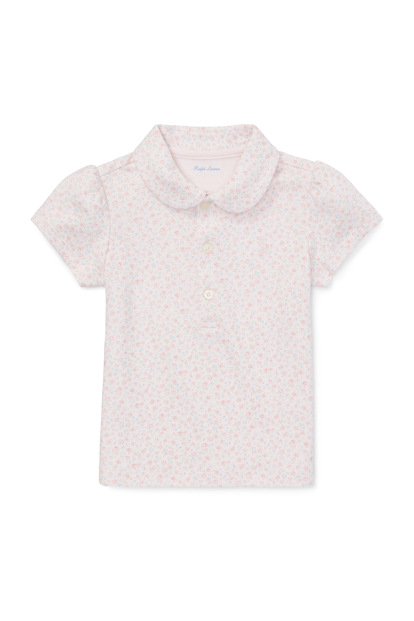 a0ae29cc9 Floral Cotton Interlock Polo by Ralph Lauren Kids at ORCHARD MILE