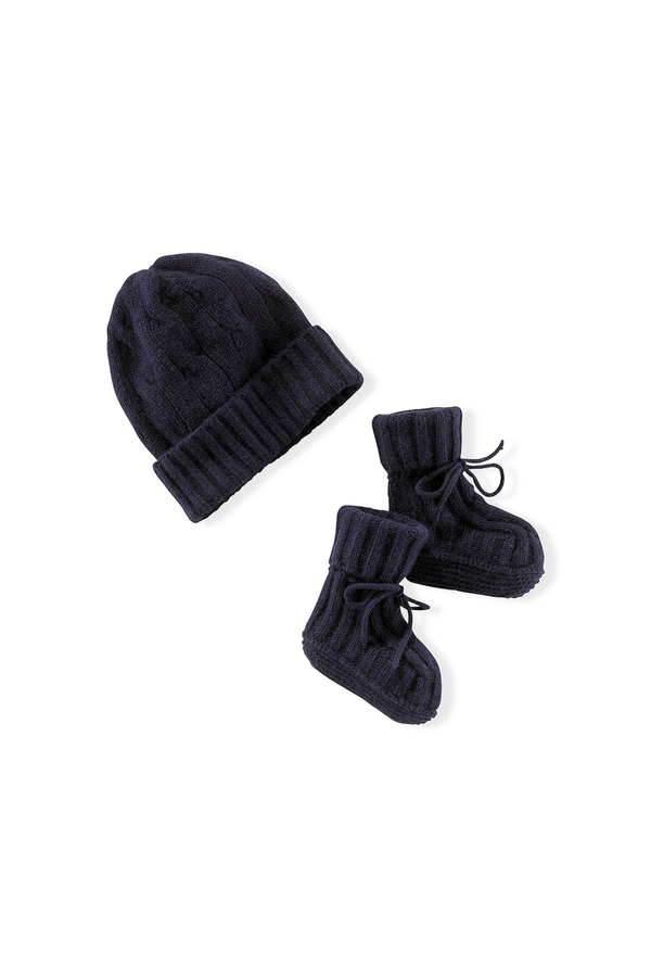 Cashmere Hat   Booties Set by Ralph Lauren Kids at ORCHARD MILE c8d763787b35