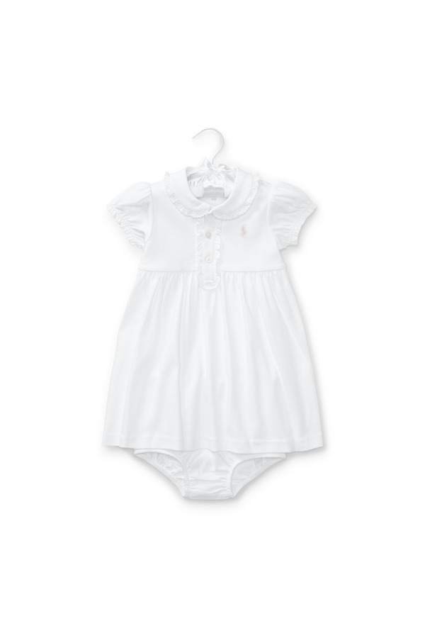 895bc7d4775f Ruffled Polo Dress & Bloomer by Ralph Lauren Kids at ORCHARD MILE