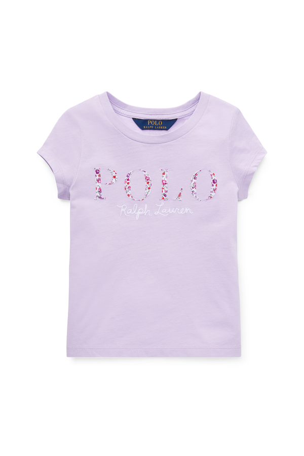 ec3e4288d Floral Polo Jersey T-Shirt by Ralph Lauren Kids at ORCHARD MILE