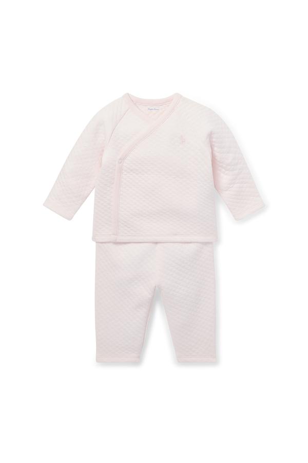 f63ca286 Jacquard Kimono Top & Pant Set by Ralph Lauren Kids