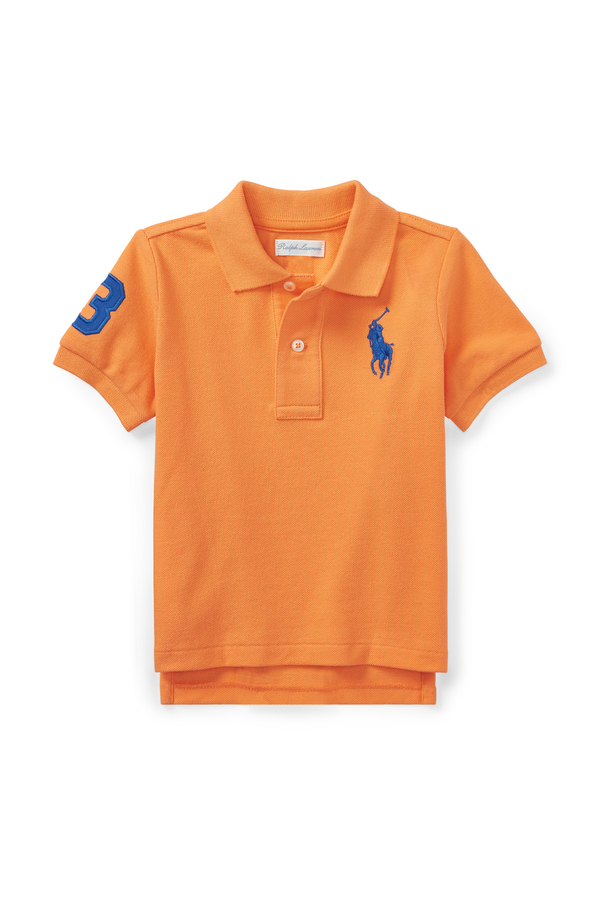 31786f4663b1ae Cotton Mesh Polo Shirt by Ralph Lauren Kids at ORCHARD MILE