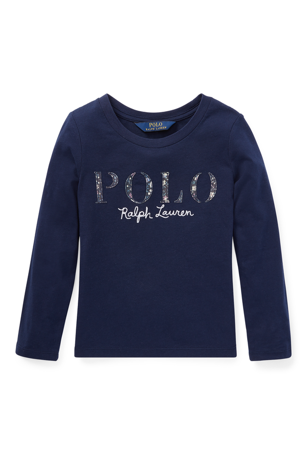 6e6e03771 Cotton Jersey Graphic T-Shirt by Ralph Lauren Kids at ORCHARD MILE