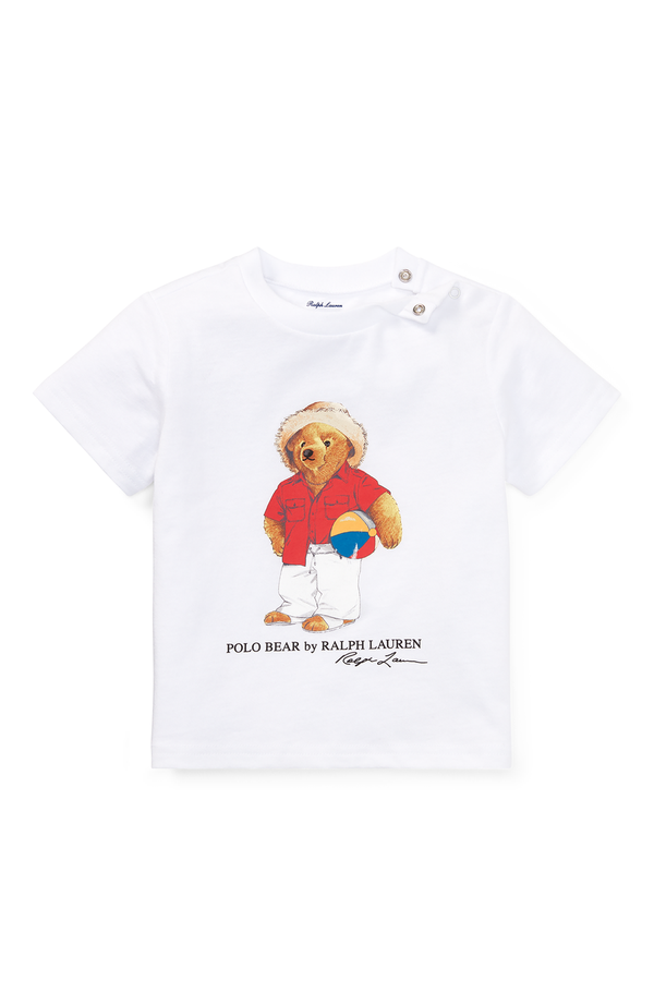 dc449b6e Beach Ball Bear Cotton T-Shirt by Ralph Lauren Kids at ORCHARD MILE