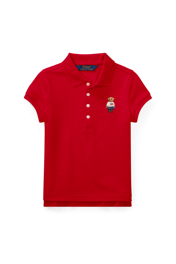 712d7ed52 Polo Bear Mesh Polo Shirt by Ralph Lauren Kids at ORCHARD MILE
