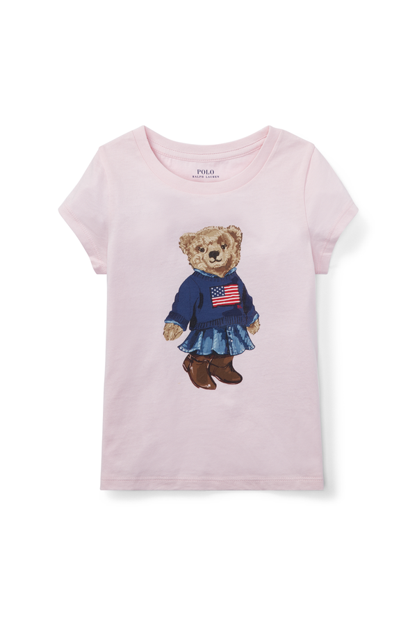 bf18c8359 Polo Bear Cotton T-Shirt by Ralph Lauren Kids at ORCHARD MILE