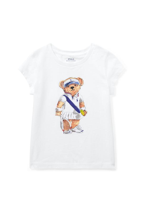 f2f434f3 Tennis Bear Cotton T-Shirt by Ralph Lauren Kids at ORCHARD MILE