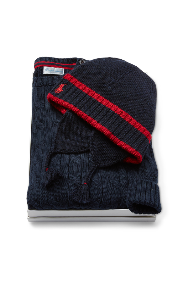 1c877c60beb1b Cold Weather 3-Piece Gift Set by Ralph Lauren Kids at ORCHARD MILE