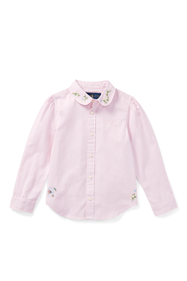 5f142290e30c82 Embroidered Oxford Shirt by Ralph Lauren Kids at ORCHARD MILE