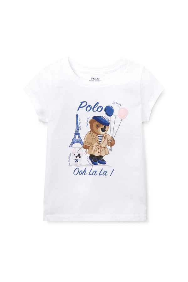 3e498545 Polo Bear Jersey T-Shirt by Ralph Lauren Kids at ORCHARD MILE