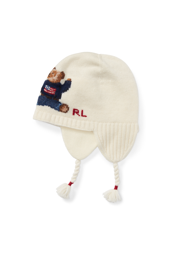 450d7765ded Polo Bear Wool-Blend Hat by Ralph Lauren Kids at ORCHARD MILE