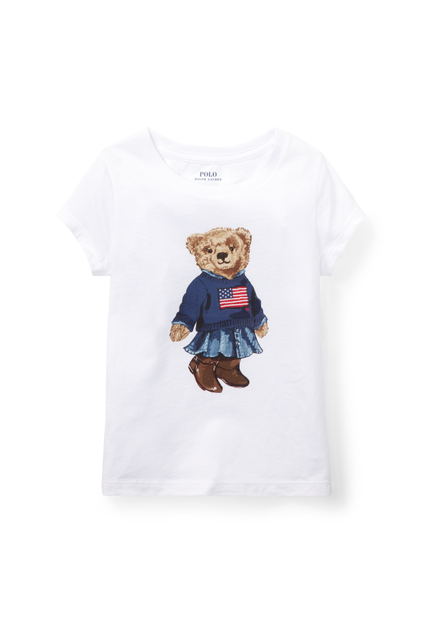 96cf8c36 Polo Bear Cotton T-Shirt by Ralph Lauren Kids at ORCHARD MILE