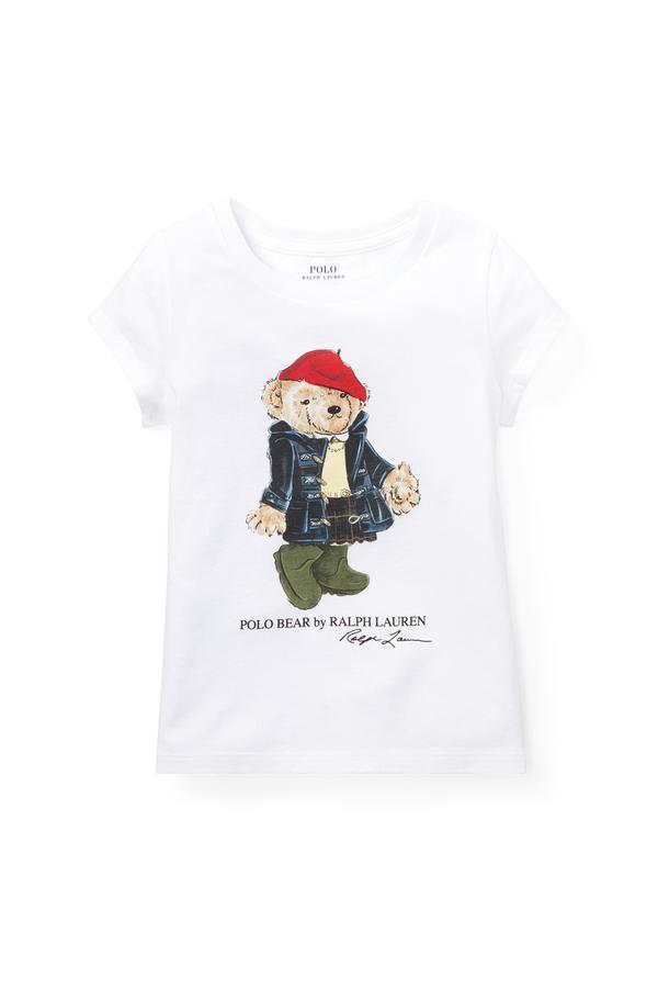 e7fdc9d6d Wellie Bear Cotton T-Shirt by Ralph Lauren Kids at ORCHARD MILE
