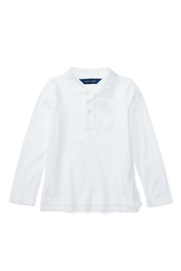 1f142cee9 Long Sleeve Uniform Polo by Ralph Lauren Kids at ORCHARD MILE
