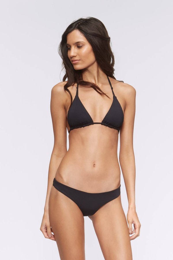 Rebecca Minkoff Becky Triangle Swim Top